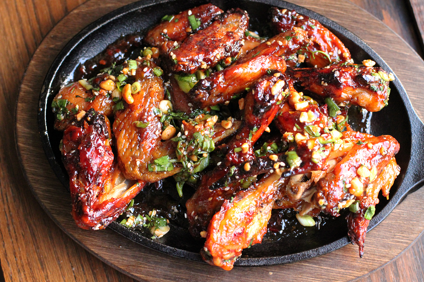 Black Pepper Teriyaki Chicken Wings Recipe