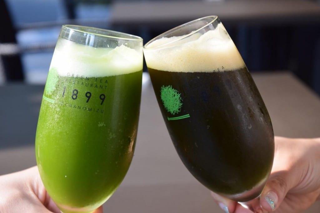 Green Tea Beer and Matcha Highball…