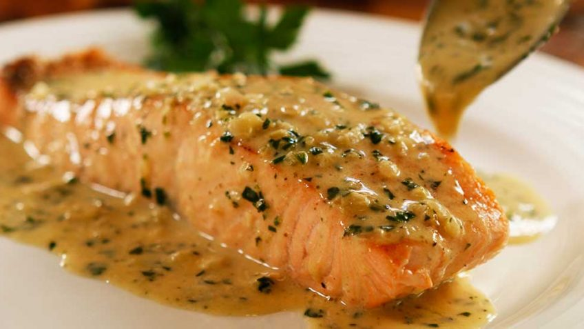 Creamy Butter Salmon Recipe