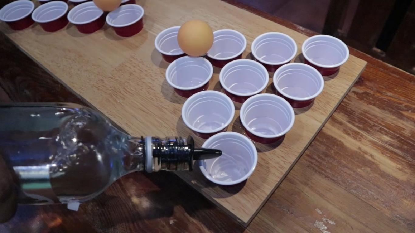 Fluid RestoBar's Mini Beer Pong…