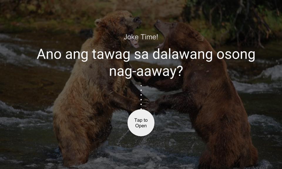 Ano ang tawag sa dalawang osong nag-aaway?
