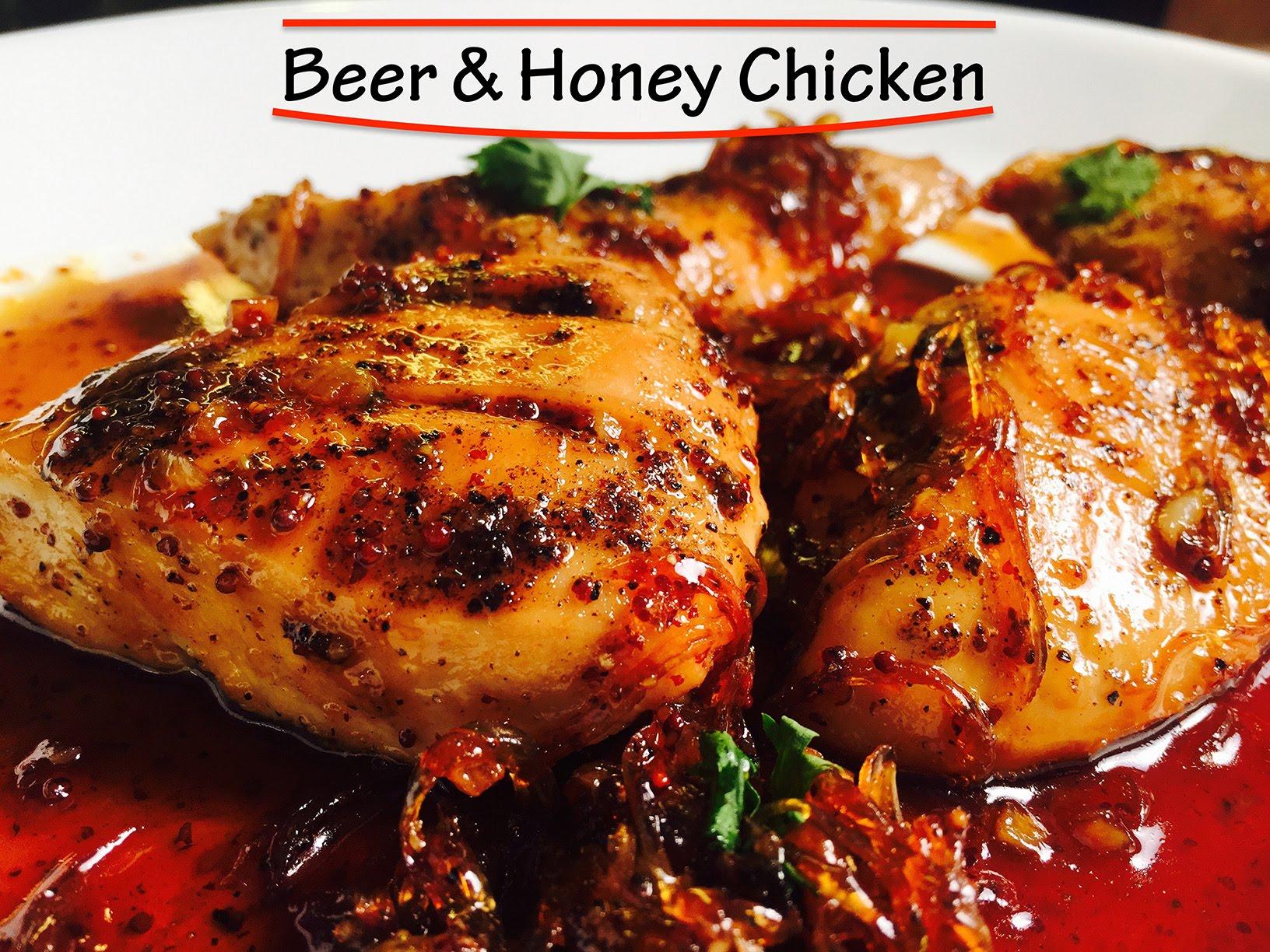 Honey Beer Chicken Recipe