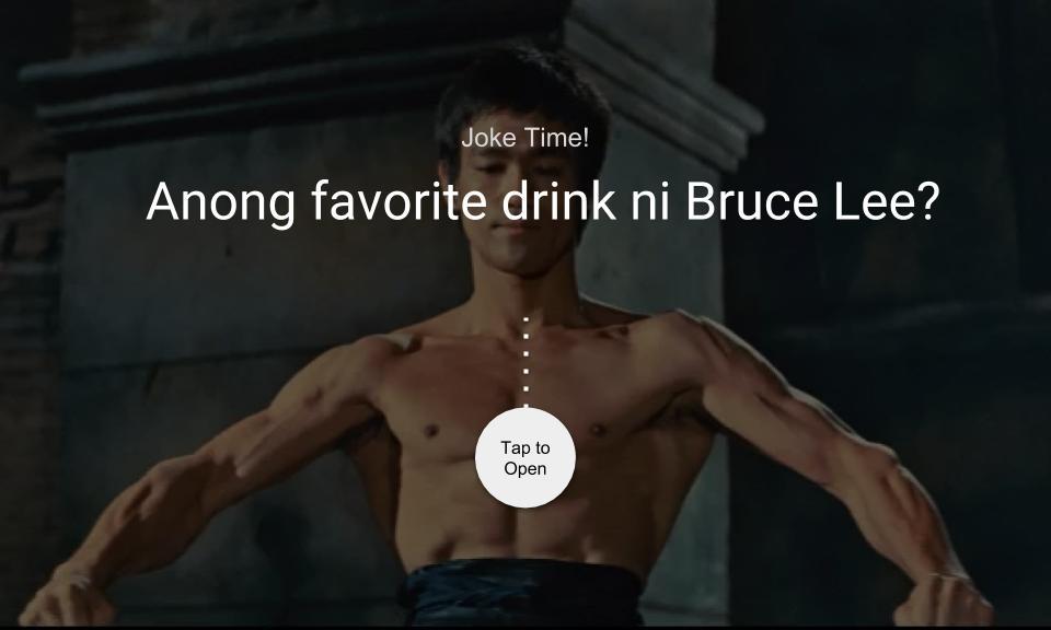 Anong favorite drink ni Bruce Lee?