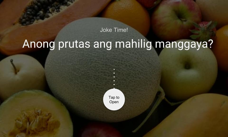 Anong prutas ang mahilig manggaya?