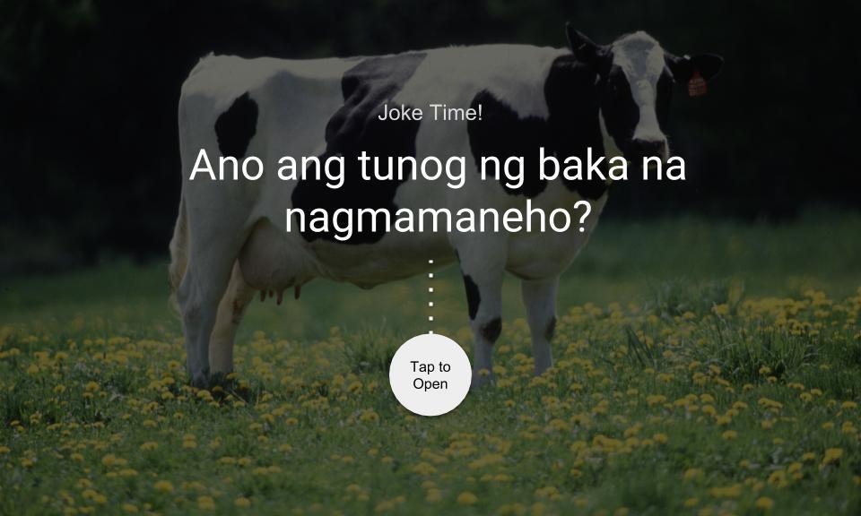 Ano ang tunog ng baka na nagmamaneho?