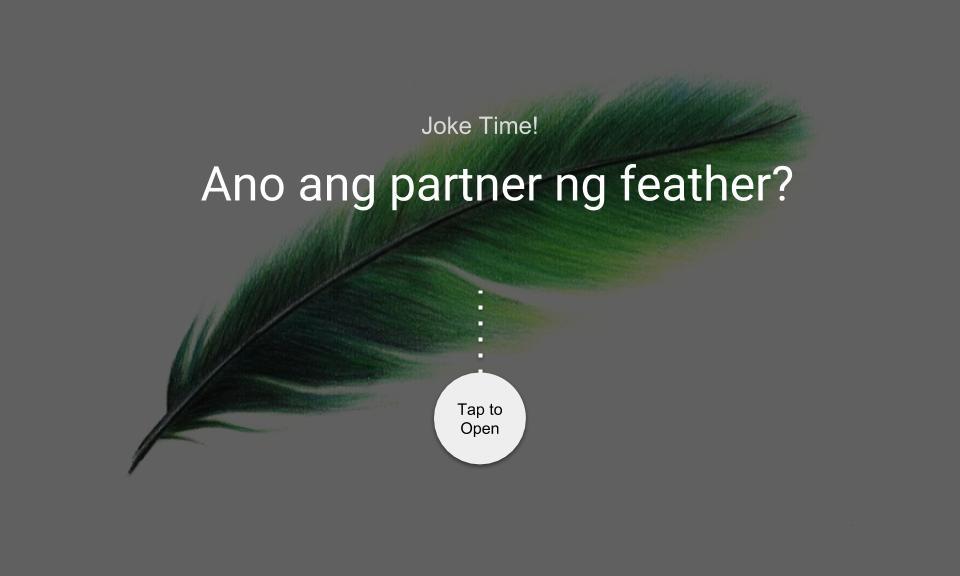 Ano ang partner ng feather?