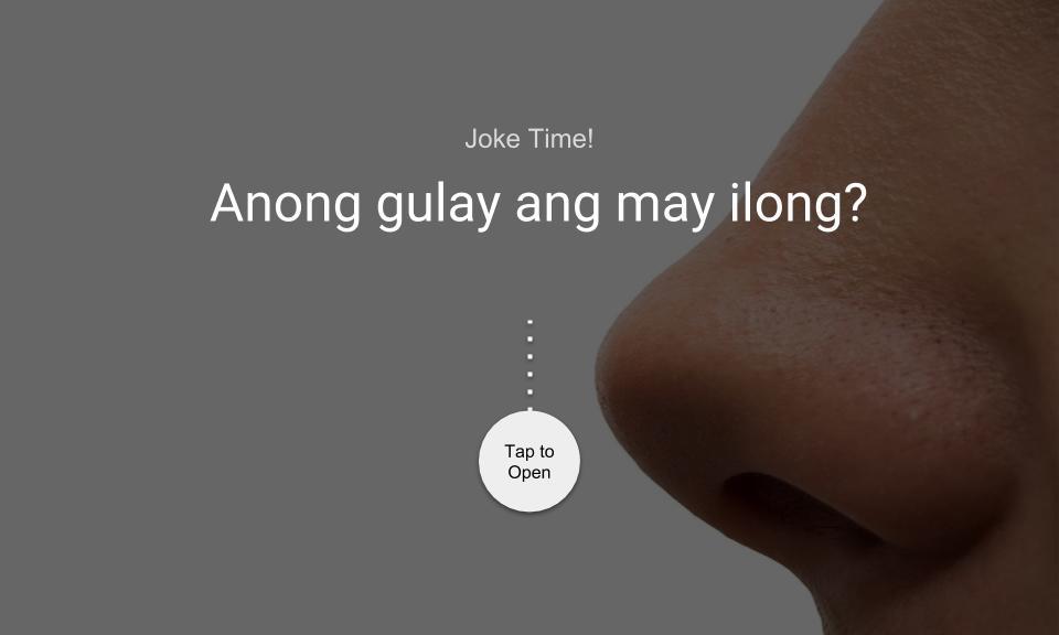 Anong gulay ang may ilong?