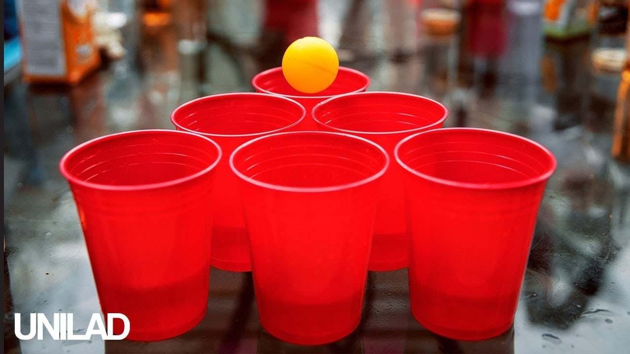 Amazing BEER Pong CUP Trick Shot  Champion…