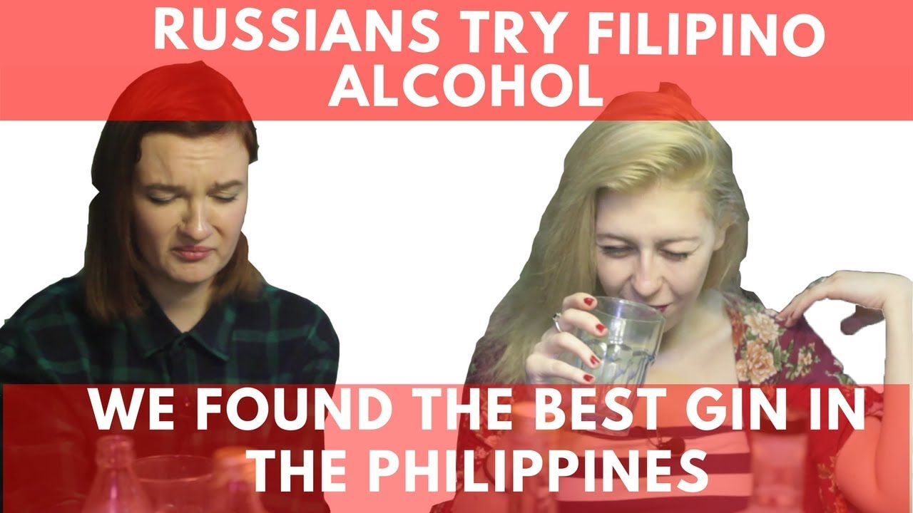 Russian Ladies Try Filipino Alcohol