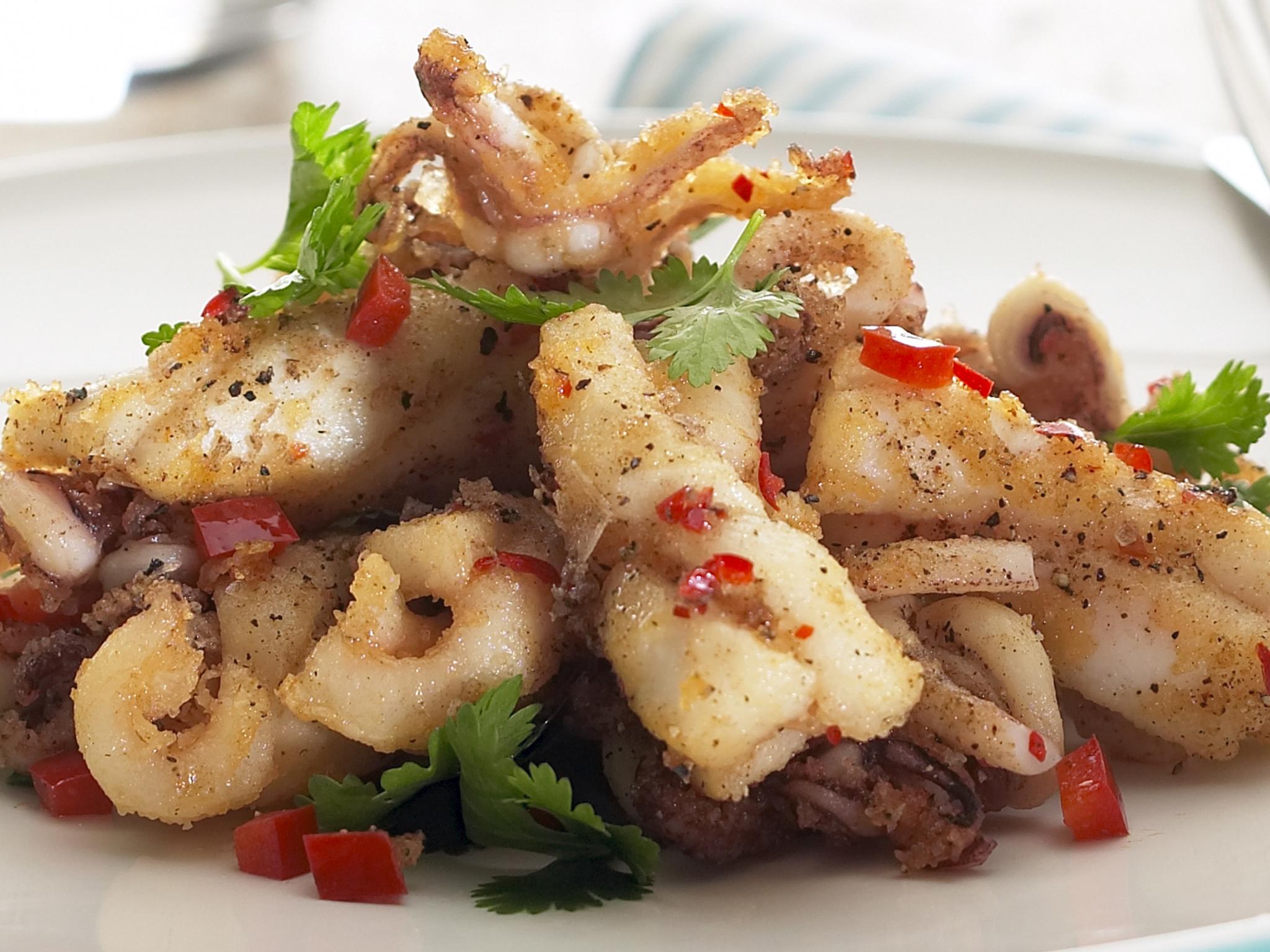 Salt and Pepper Squid Recipe
