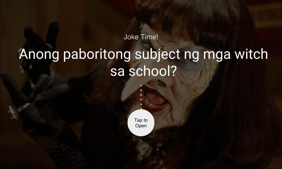 Anong paboritong subject ng mga witch sa school?