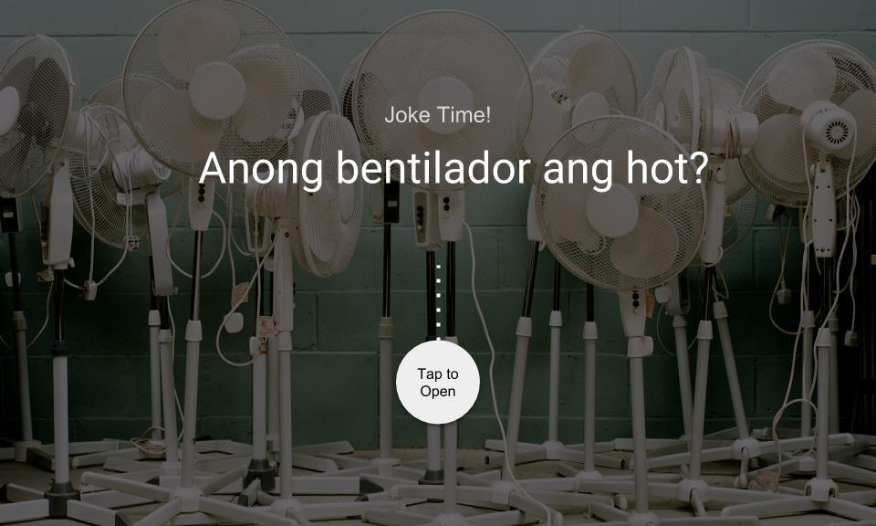 Anong bentilador ang hot?