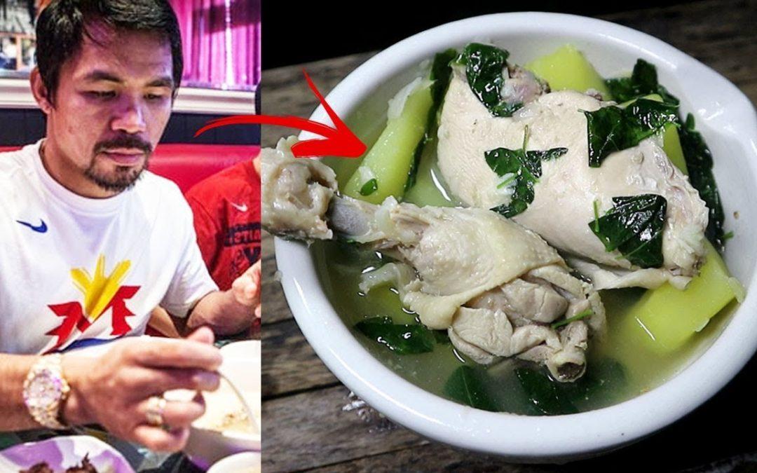 Manny Pacquiao Super Food – Chicken Tinola Recipe
