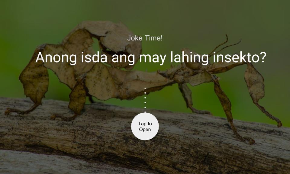 Anong isda ang may lahing insekto?