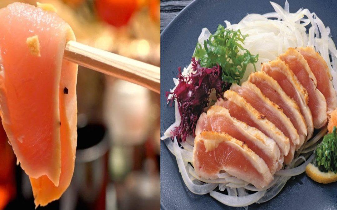 HELL NO! Chicken Sashimi??!