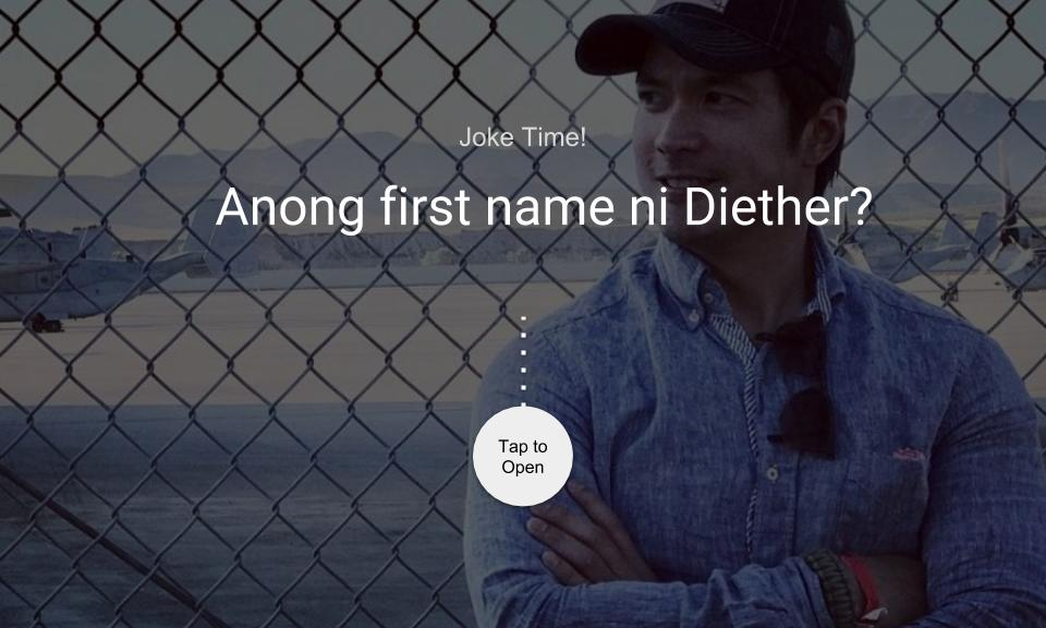Anong first name ni Diether?