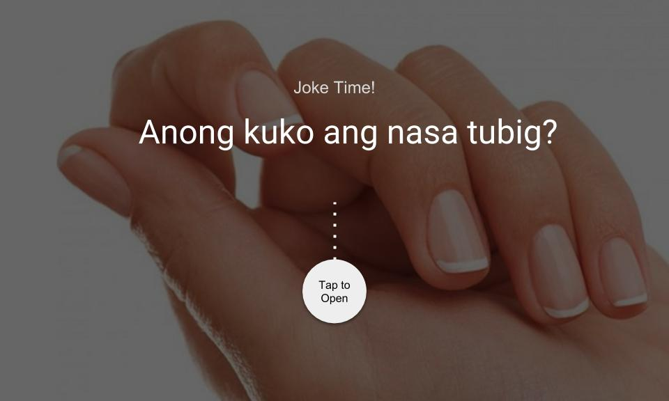 Anong kuko ang nasa tubig?