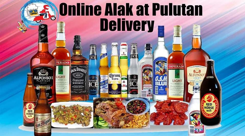 Online Alak at Pulutan